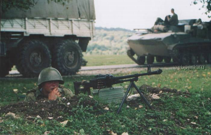 Russian soldiers in Chechnya 47