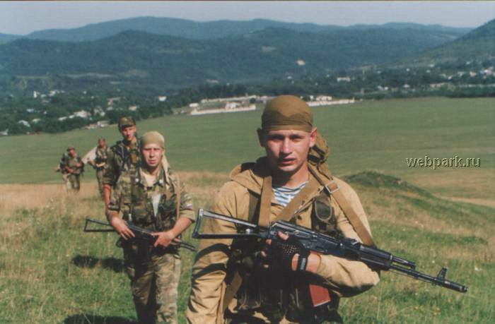 Russian soldiers in Chechnya 49