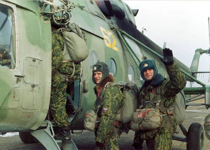 Russian soldiers in Chechnya 50