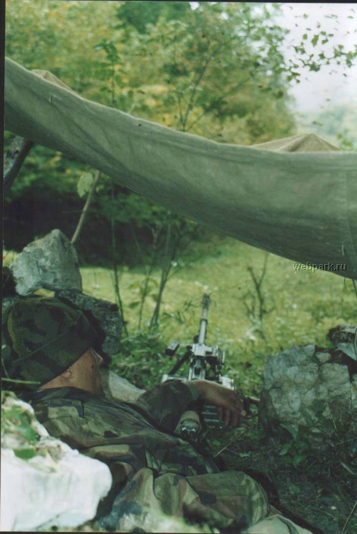 Russian soldiers in Chechnya 6