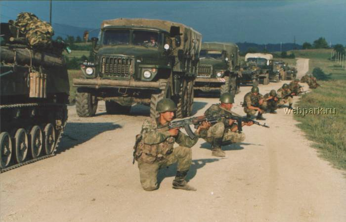 Russian soldiers in Chechnya 8