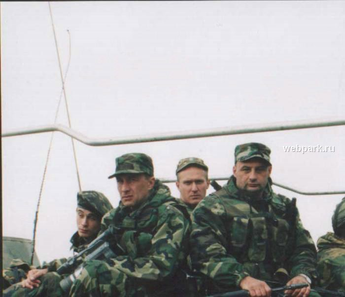 Russian soldiers in Chechnya 9