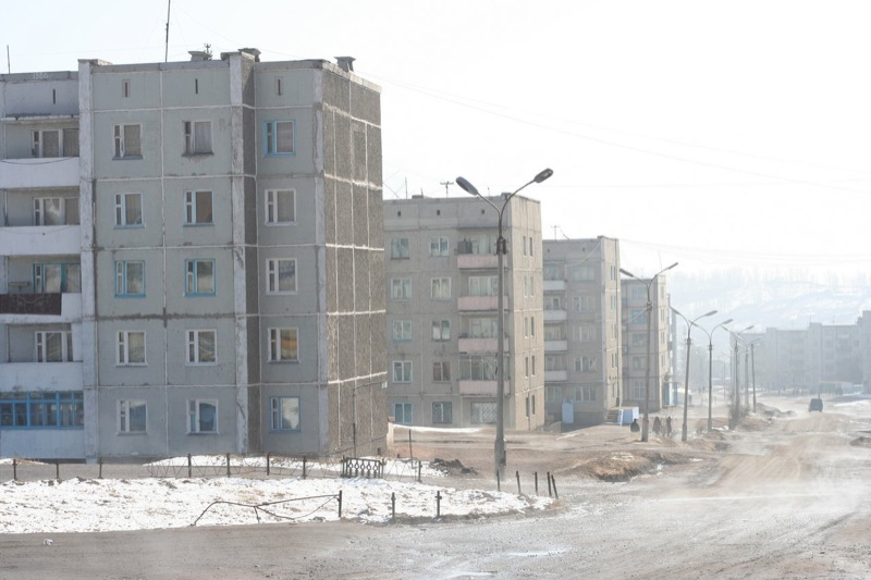 Russian town Sorsk 3