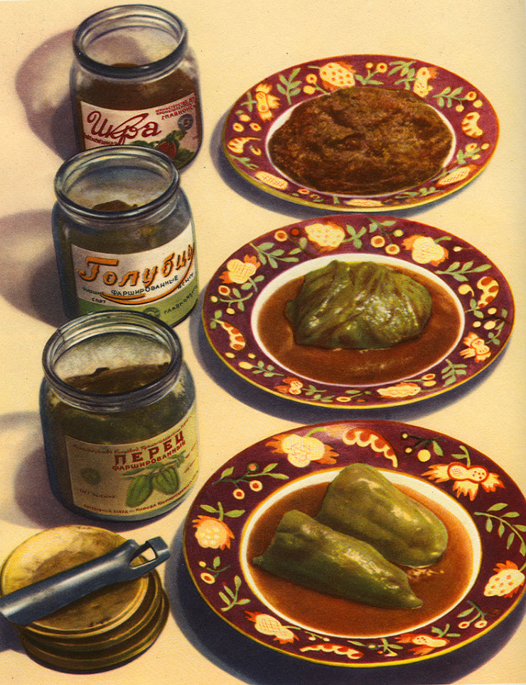 Soviet Food Posters 2