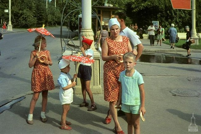 Moscow, Russia, 1960 1