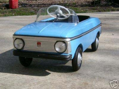 Full article about soviet pedal vehicles for kids on englishrussia