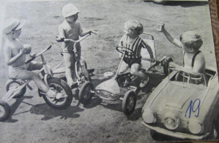 soviet pedal automobiles for children 17
