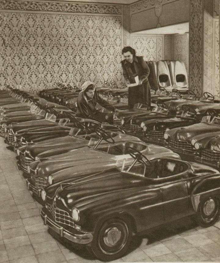 soviet pedal automobiles for children 5