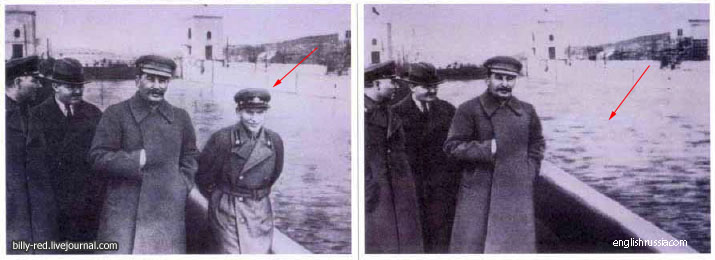 1 10 Foto foto Manipulasi Jaman Uni Soviet Di Mana Photoshop Belum Ada!!
