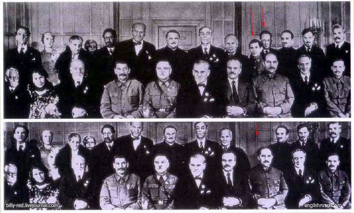 2 10 Foto foto Manipulasi Jaman Uni Soviet Di Mana Photoshop Belum Ada!!
