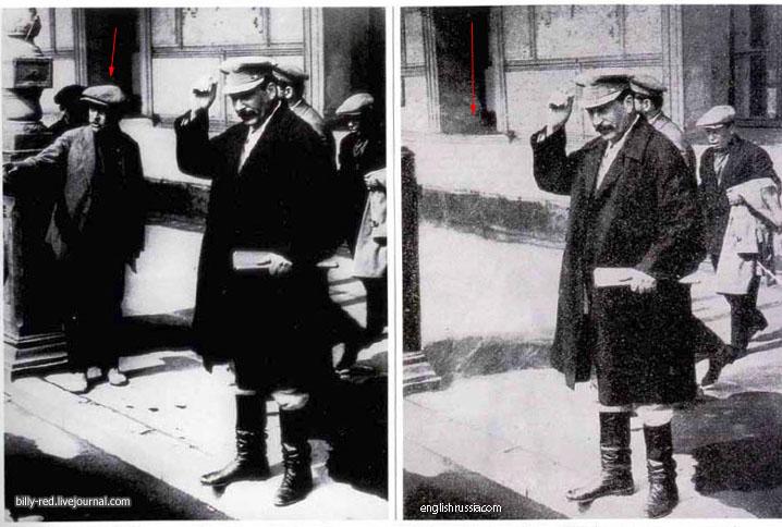 6 10 Foto foto Manipulasi Jaman Uni Soviet Di Mana Photoshop Belum Ada!!