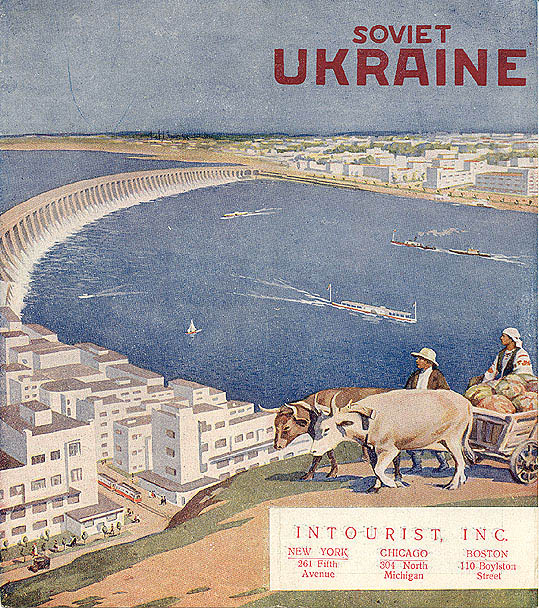 Soviet Ads for Western Audience 13