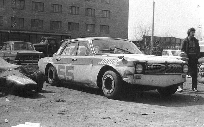 Russian cars racing in Soviet times 7