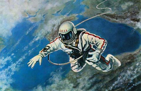 Space Through the Eyes of Soviet Cosmonauts 10