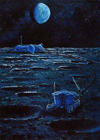 Space Through the Eyes of Soviet Cosmonauts 25