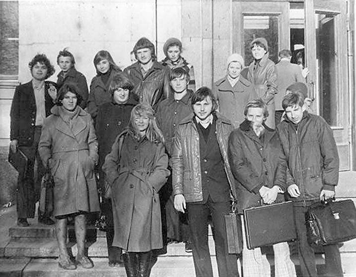 Students of USSR, or Russian students during Soviet reign 4