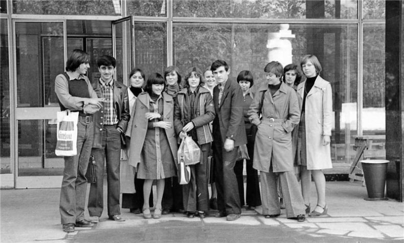 Students of USSR, or Russian students during Soviet reign 6