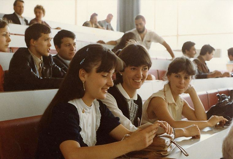 Students of USSR, or Russian students during Soviet reign 7
