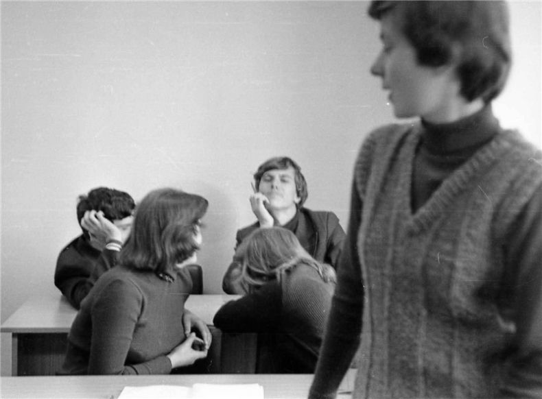 Students of USSR, or Russian students during Soviet reign 11