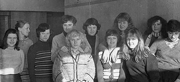 Students of USSR, or Russian students during Soviet reign 19