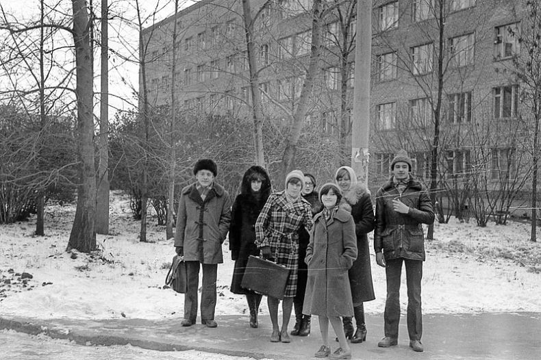 Students of USSR, or Russian students during Soviet reign 39