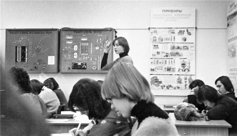 Students of USSR, or Russian students during Soviet reign 40