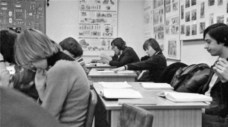 Students of USSR, or Russian students during Soviet reign 48