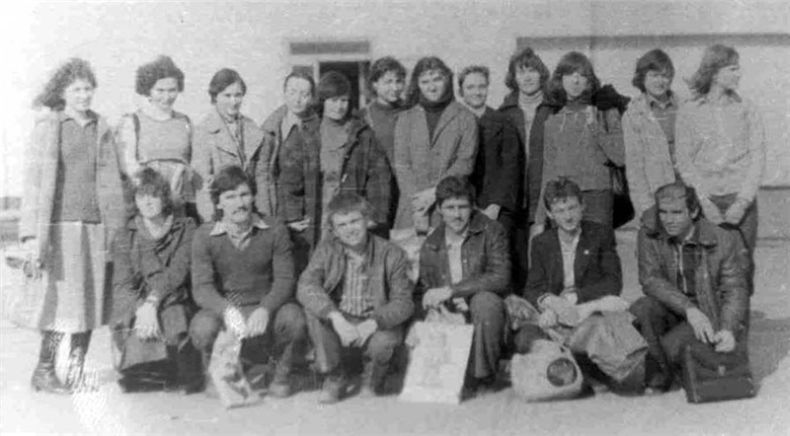 Students of USSR, or Russian students during Soviet reign 50