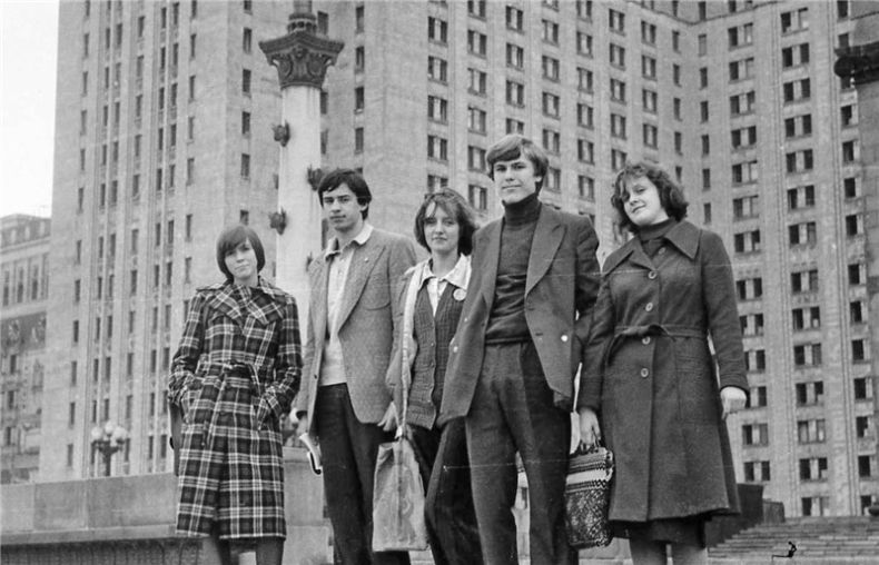 Students of USSR, or Russian students during Soviet reign 63
