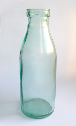 Russian milk bottle