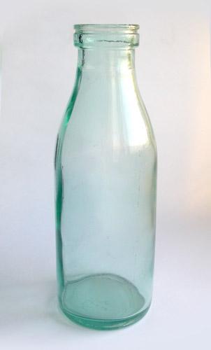 Russian milk bottle