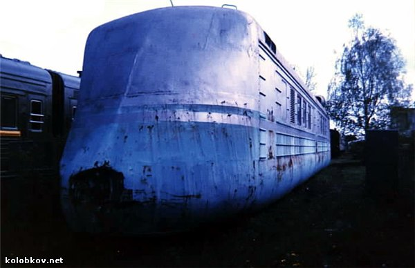 more information about soviet turbo jet train 11