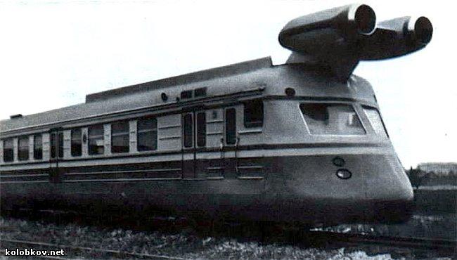 more information about soviet turbo jet train 7
