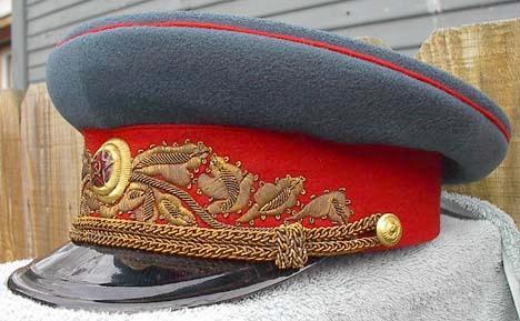 soviet uniform caps collection 1