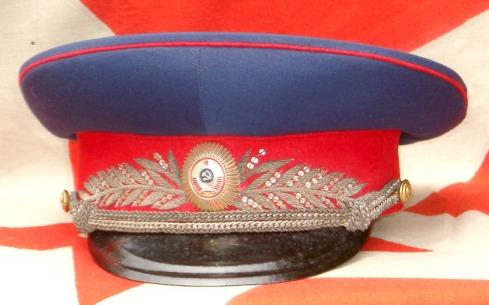 soviet uniform caps collection 34