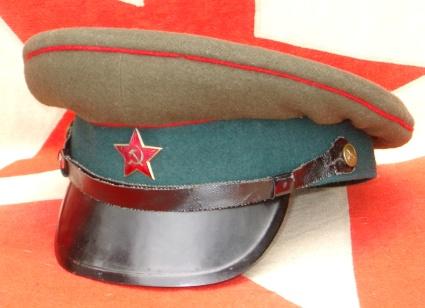 soviet uniform caps collection 6