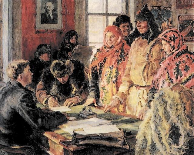 weddings in Soviet Russia 1