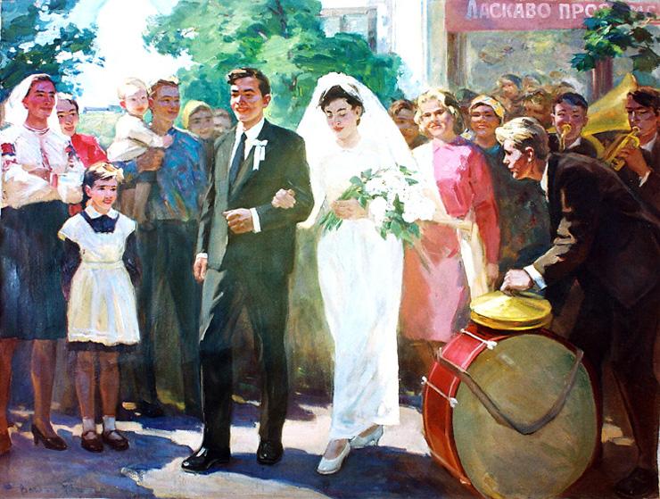 weddings in Soviet Russia 11