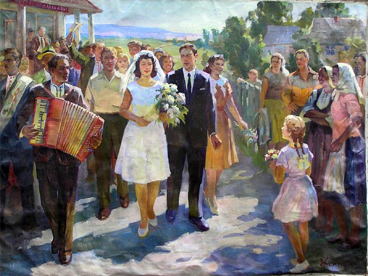 weddings in Soviet Russia 12