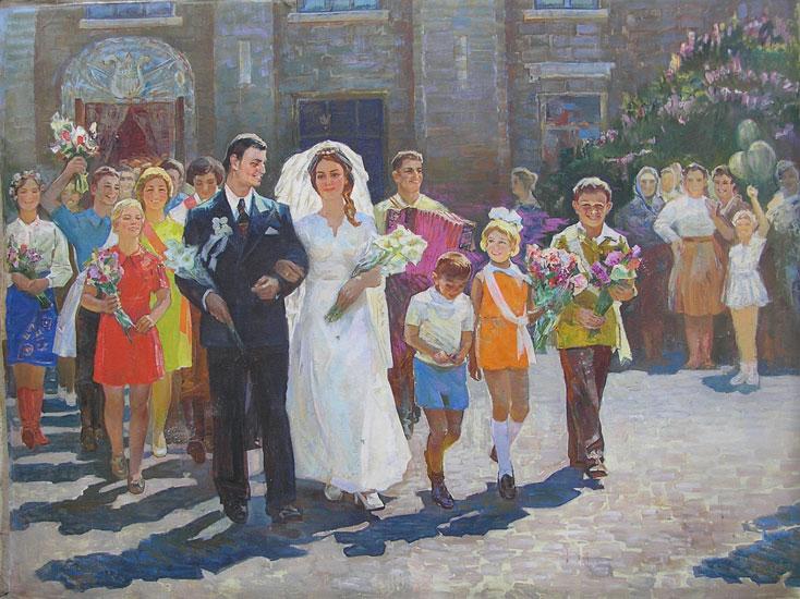 weddings in Soviet Russia 13