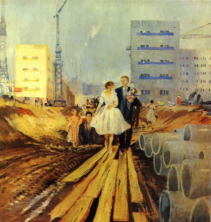 weddings in Soviet Russia 14