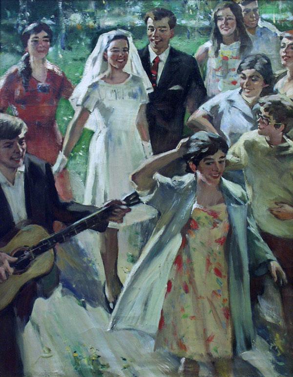 weddings in Soviet Russia 15