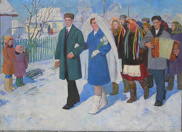weddings in Soviet Russia 16