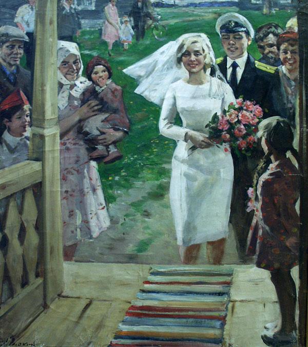weddings in Soviet Russia 17