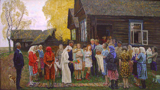 weddings in Soviet Russia 18