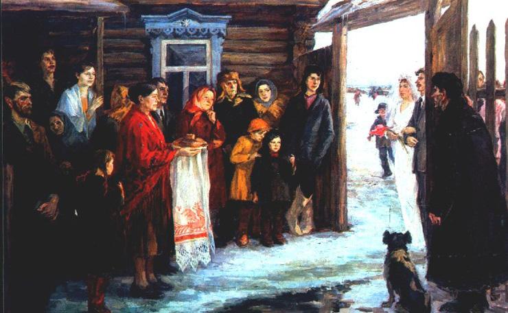 weddings in Soviet Russia 19