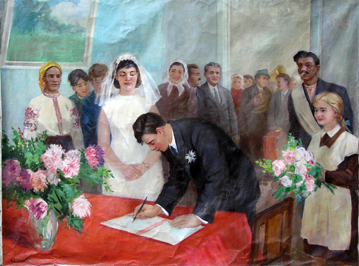 weddings in Soviet Russia 2