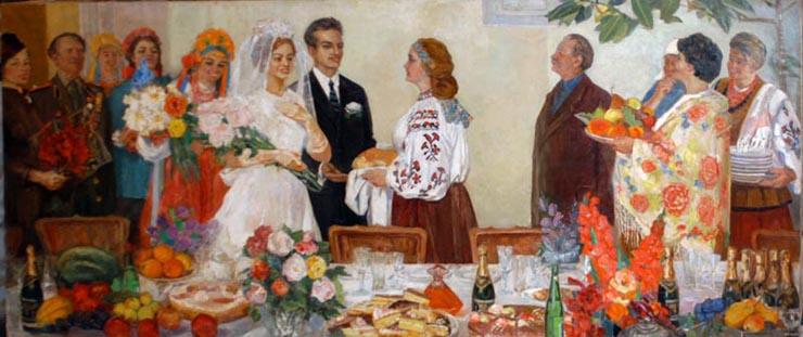 weddings in Soviet Russia 21