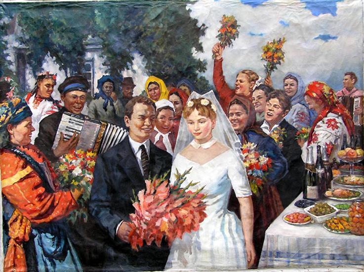 weddings in Soviet Russia 22