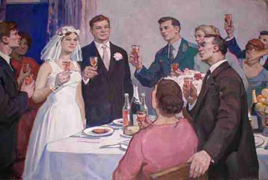 weddings in Soviet Russia 24